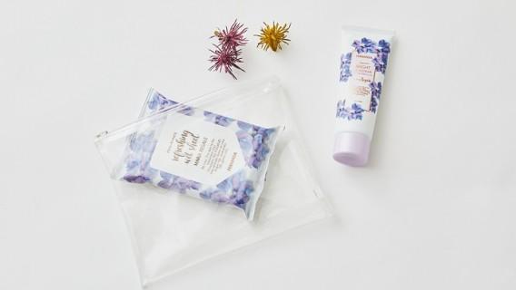 春の新商品 UVモイスチャー&リフレッシングシート発売。